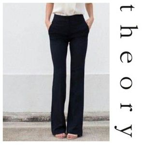 Theory Wool Trousers Career Pants Max C